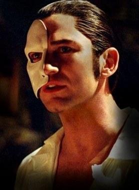 Gerard Butler as the Phantom
